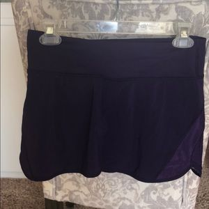 Lululemon Purple running skirt